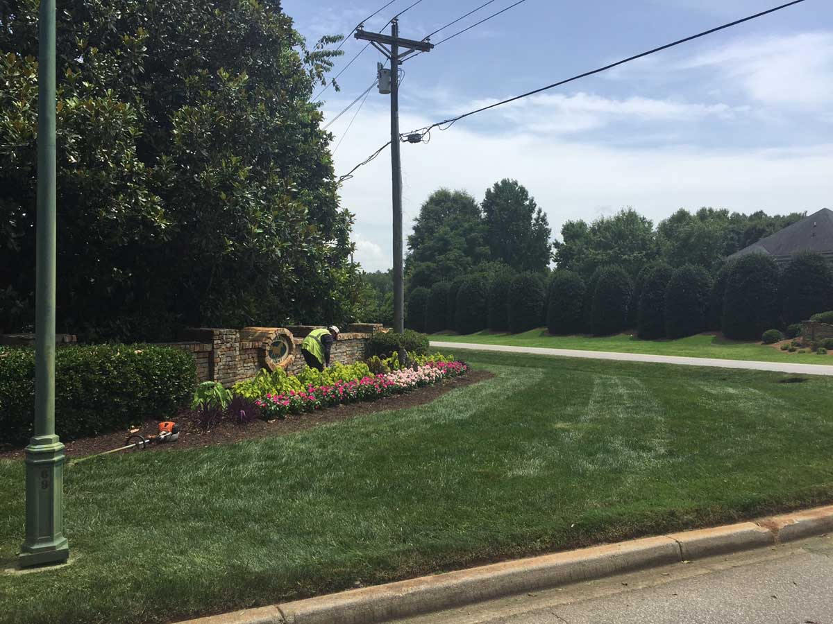 Hoa landscape maintenance program full service for Garden maintenance plan