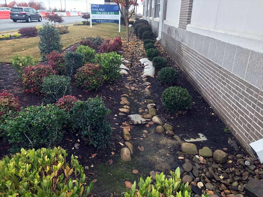 landscape drainage solution