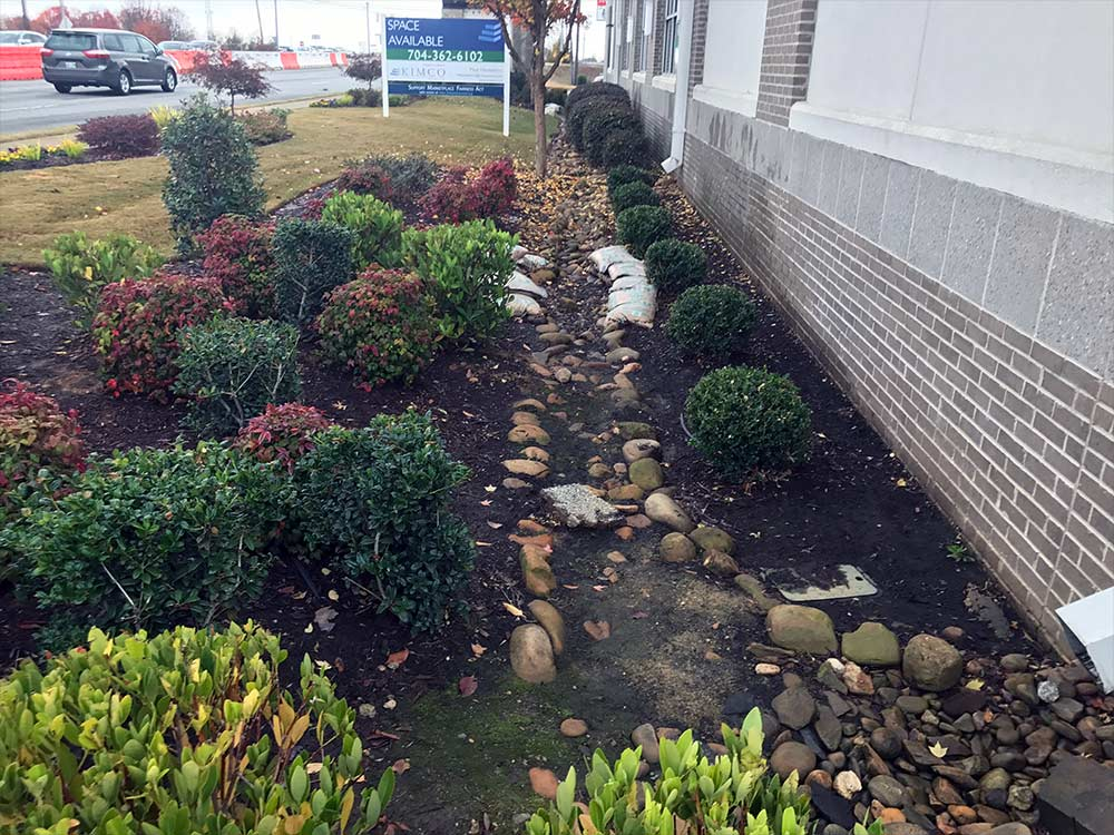 landscape drainage solution